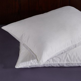 Pure Down Puredown White Goose Feather and Down Pillow, Queen, Set of 2