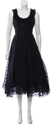 Marc Jacobs Polka Dot Silk Gown