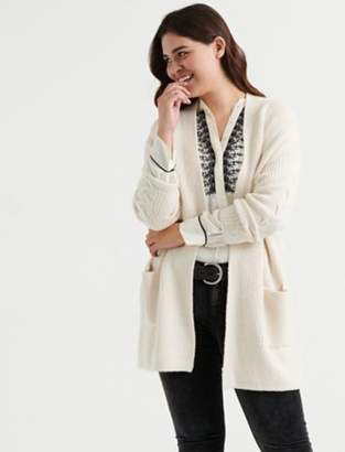 Lucky Brand VENICE CABLE CARDIGAN