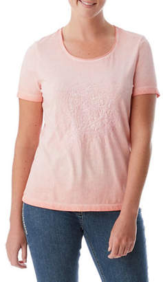 Olsen Cold Dye Cotton Top