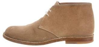 Bottega Veneta Suede Ankle Boots