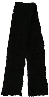 Calvin Klein Collection Oversize Wool Scarf