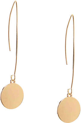 Kelly & Katie Round Disk Threader Earrings - Women's