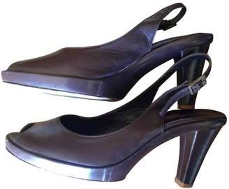 Elisabeth Stuart Brown Leather Heels