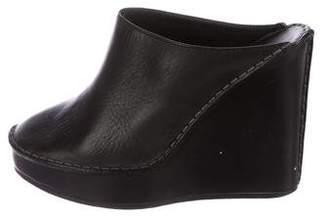 Chloé Platform Wedge Slide Sandals