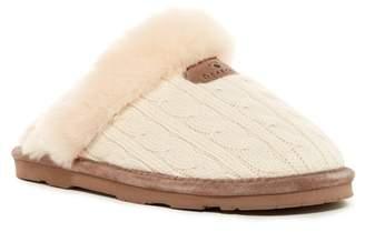 BearPaw Effie Genuine Sheepskin Lined Slipper