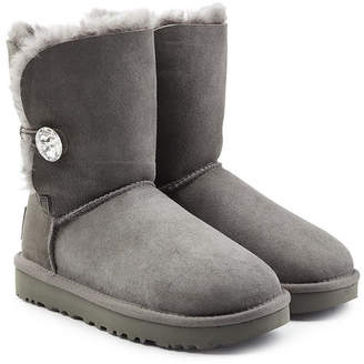 UGG Bailey Bling Shearling Lined Suede Boots