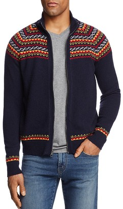 Michael Bastian Fair Isle Zip-Front Cardigan Sweater - 100% Exclusive $278 thestylecure.com