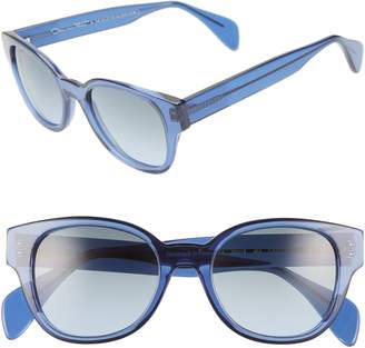 Morgenthal Frederics ODLR X Sabrina 50mm Cat Eye Sunglasses