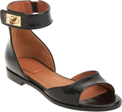 Givenchy Shark Tooth Ankle Strap Sandal