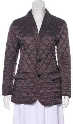 Burberry Fitted Quilted Jacket