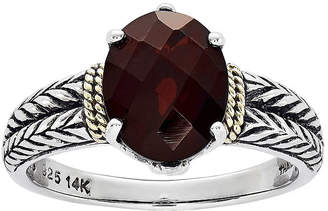 Couture FINE JEWELRY Shey Genuine Garnet Sterling Silver Ring