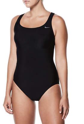 Nike SWIM One-Piece Open Back Swimsuit