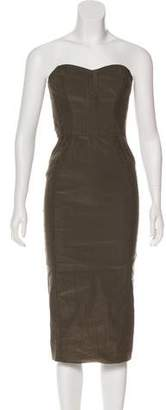 Veronica Beard Strapless Midi Dress w/ Tags