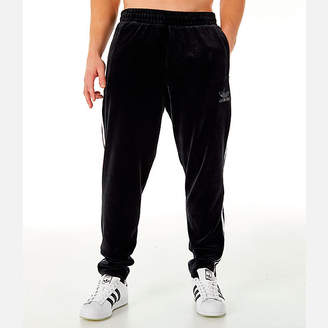adidas Mens Velour Track Pants
