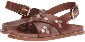 Etro Studded Crossover Sandal Women's Sandals