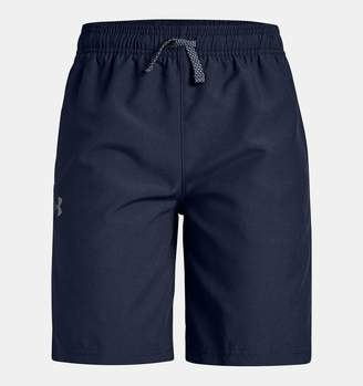 Under Armour Boys' UA Woven Graphic Shorts
