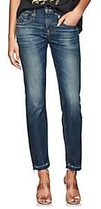 R 13 Women's Boy Skinny Jeans - Blue