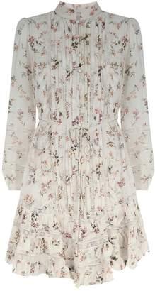 Zimmermann Silk Whitewave Floral Dress