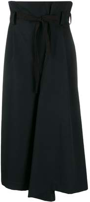 Y's high waisted palazzo trousers