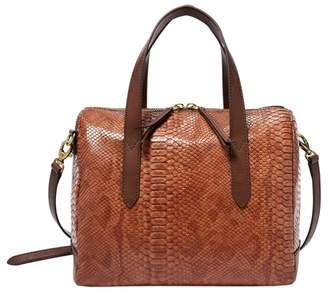 Fossil Sydney Satchel Handbags Baked Clay