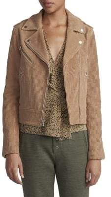 Rag & Bone Mercer Cotton Moto Jacket
