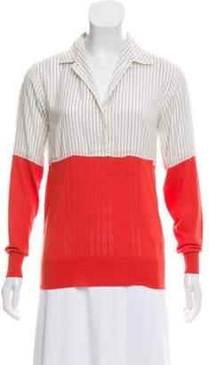 Paul Smith Long Sleeve Knit Top