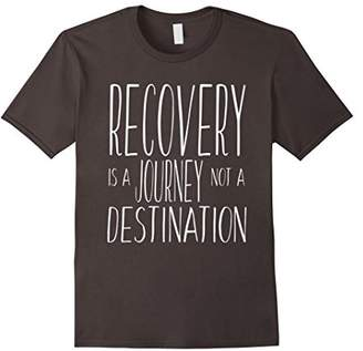 Recovery is a journey T Shirt - Sobriety Gift