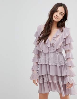 Glamorous Frill Skater Dress