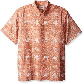 Reyn Spooner Men's Plus Size Lahaina Sailor Classic Fit Pullover Hawaiian Shirt