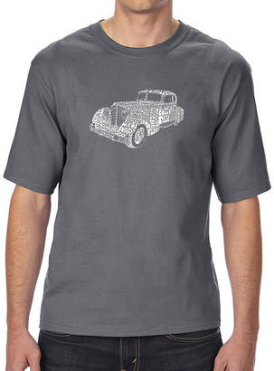 LOS ANGELES POP ART Los Angeles Pop Art Boy's Raglan Baseball Word Art T-shirt - Wild and Free Eagle