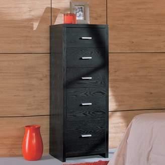 Organize It All Dusk 5-Drawer Unit, Black