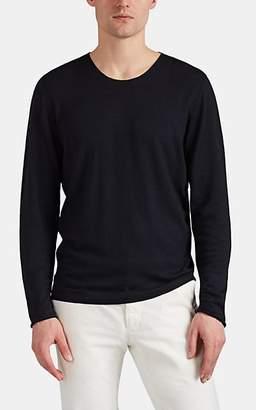 Massimo Alba Men's Cashmere Long-Sleeve T-Shirt - Navy