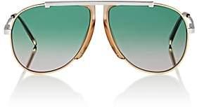 Celine Women's Oversized Aviator Sunglasses - Turquoise