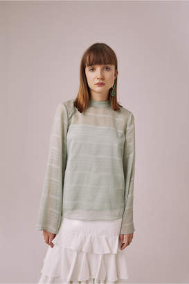 Keepsake CHARMER LONG SLEEVE TOP mint