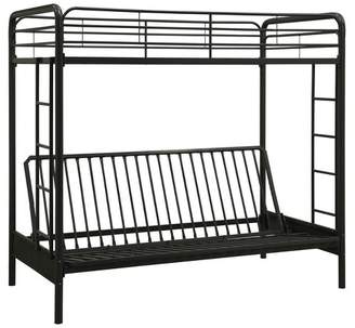 LOFT Room & Joy Metal Twin Over Futon Bunk Bed - Dorel Home Products