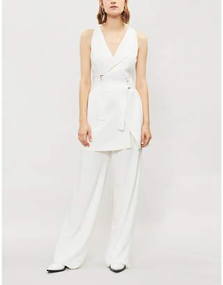 Dion Lee Holster crepe mini dress