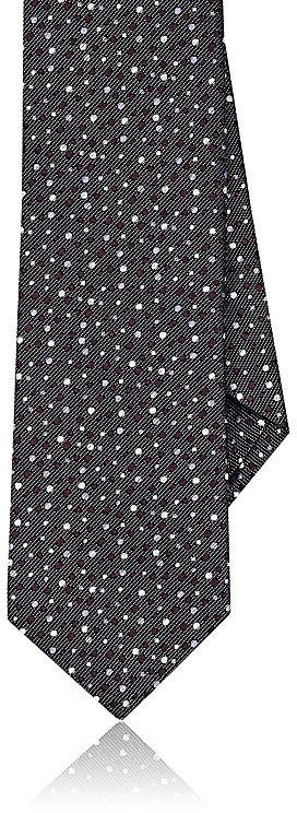 Barneys New YorkBarneys New York Men's Dotted Silk-Blend Necktie