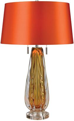 Elk Lighting Modena 26In Free Blown Glass Table Lamp
