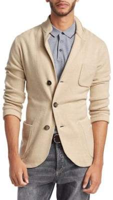 Brunello Cucinelli Cashmere Button-Front Sweater Jacket