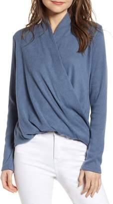 CODEXMODE Faux Wrap Sweater