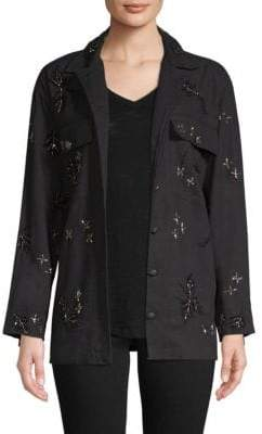 The Kooples Embroidered Ruth Jacket