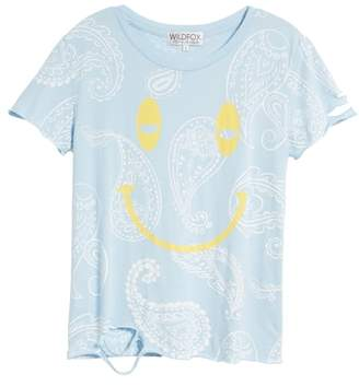 Wildfox Couture Sleepy Smiley Stellar Tee