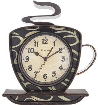 Westclox Coffee Mug Wall Clock