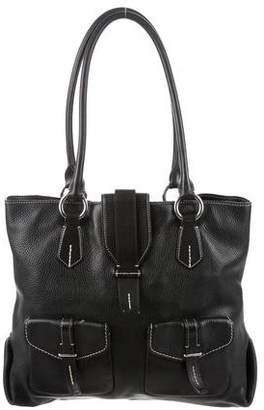 Tumi Grained Leather Tote