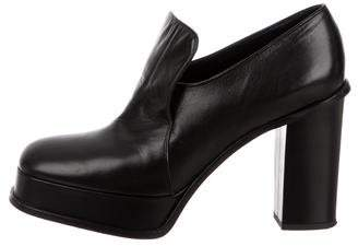 Celine Platform Leather Pumps