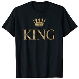 King Gold Crown Birthday T-Shirt