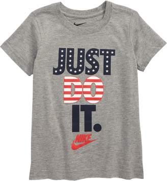 207cde19 Nike Just Do It Americana Graphic T-Shirt