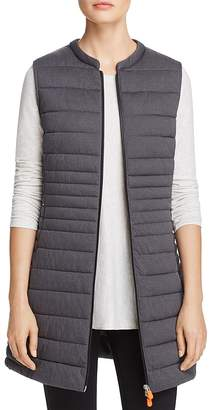 Save The Duck Packable Long Puffer Vest - 100% Exclusive $248 thestylecure.com