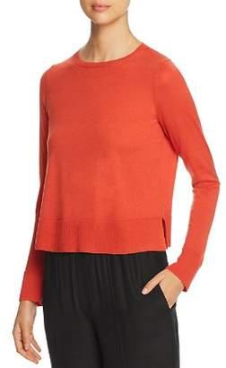 Eileen Fisher Merino Wool Cropped Sweater